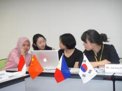 "18. Preparation for reporting to ""International Forum for Women's Empowerment"""